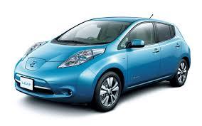Nissan Leaf blue