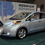 nissan leaf photo