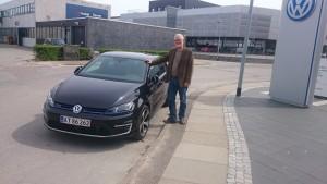 Golf GTE test AF ELBILBLOG