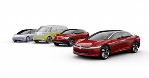 VW I.D. familien